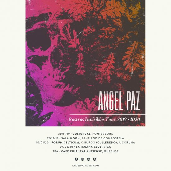 Angel Paz Tour Cartaz - Instagram muro